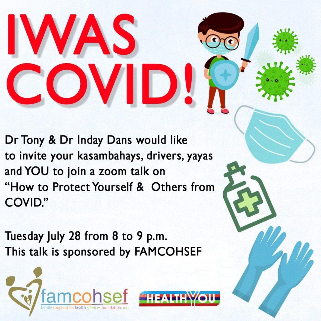 Iwas COVID